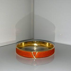 Vince Camuto Orange Leather Bracelet